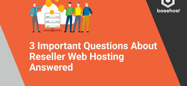 BaseHost Web Host Reseller Blog Banner